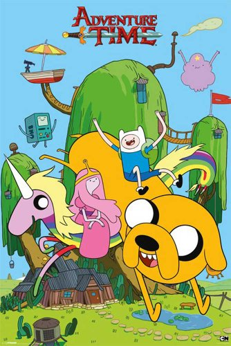 empireposter - Adventure Time - House - Größe (cm), ca. 61x91,5 - Poster, NEU -