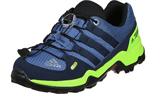 adidas Unisex-Kinder Terrex Trekking-& Wanderhalbschuhe, Blau (Azretr/Maruni/Belazu 000), 30.5 EU