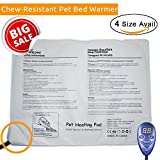 [Clearance] Chew Resistant Pet Heat Pad Electric blanket for Dog Cat - Snuggle Safe Warming Mat Bed Warmer Heater with Temperature Controller