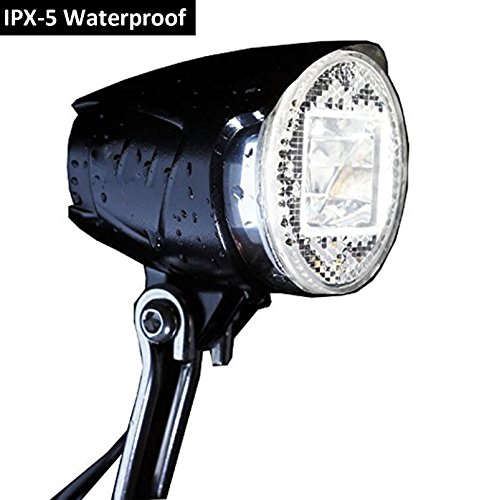 scheinwerfer fahrrad stvzo zugelassen kingtop led fahrradbeleuchtung led fahrradlampe 40 lux. Black Bedroom Furniture Sets. Home Design Ideas
