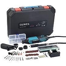 Gumes amoladora eléctrica Advanced Professional Kit de herramientas rotatorias multifunción con(165w)+ 80