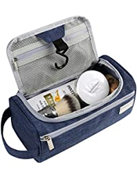 Eono Essentials Hanging Travel Toiletry Bag Overnight Wash Gym Shaving Bag  for Men and Women aa681cb99ee53