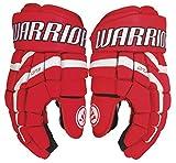 Warrior Covert QR3 Handschuhe Junior, Größe:11 Zoll;Farbe:rot/weiss
