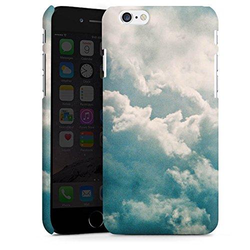 Apple iPhone X Silikon Hülle Case Schutzhülle Wolken Himmel Natur Premium Case matt