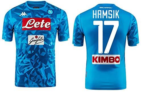 Kappa Italia SSC Napoli HAMSIK Official Shirt 2018-19 Kombat Extra bcfd49c578d02