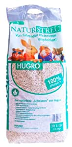 Hugro Natural Hemp Bedding, 30 Litre