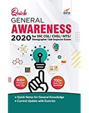 Quick General Awareness 2020 for SSC CGL/CHSL/MTS/Stenographer/Sub-Inspector Exams