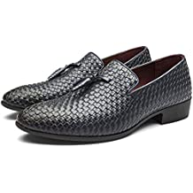 Zapatos Oxford Hombre, Zapatos Mocasines Hombre, Zapatos de Hombre de Cuero PU, Zapatos