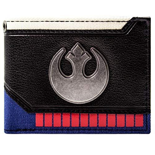 Star Wars Han Solo Aufrüsten Rebel Schwarz Portemonnaie ()