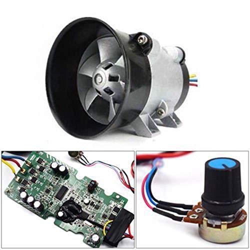 Cargador turbo turbina eléctrica para automóvil, 12V, ventilador + ESC