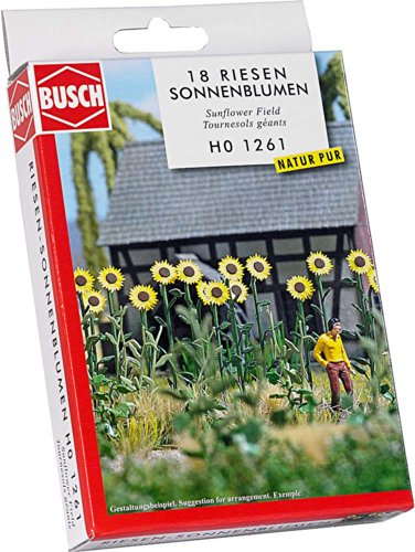 Busch Environnement - BUE1261 - Modélisme - Tournesols Géants