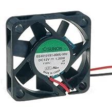 Sunon Ventilador 40x 40x 10mm ee40101s1–999DC 12V 7000U/min 32DBA deslizamiento, 2hilos de