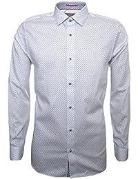 Ted Baker Men's White Werlbee Long Sleeved Shirt