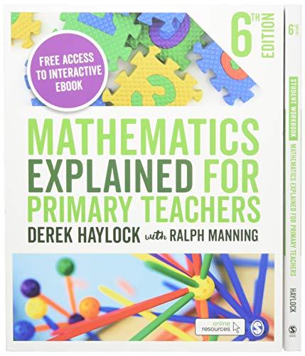 Haylock: Mathematics Explained for Primary Teachers 6e + Student Workbook bundle