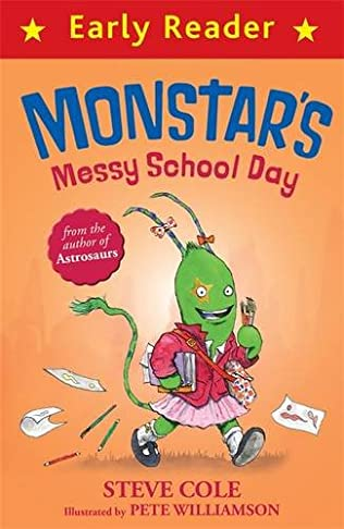 book cover of Monstar\'s Messy School Day