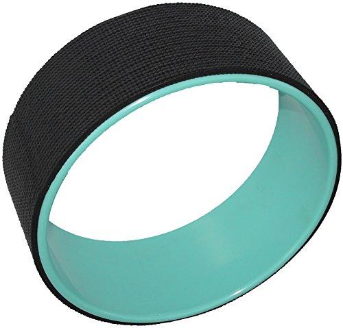 Yogi-bare, Ruota di Yoga - Rotella per Yoga, colore: nero / verde menta, yogi bare - yoga wheel