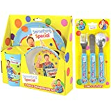 Something Special Mr Tumble 6-Piece Dinner Set | Mealtime | Dinnerware