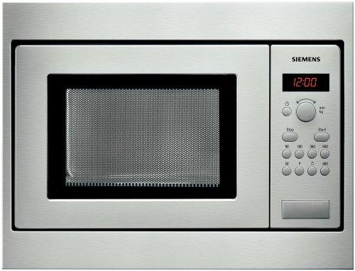 Siemens HF15M551, 1270 W, 230 V, 10 A, Acero inoxidable, 453 x 320 x 280 mm, 16000 g, 290 x 274 x 194 mm – Microondas