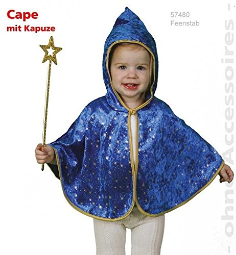 Cape Kleiner Zauberer Kleinkind Kostüm 92 (Kostüme Für Kleinkind)