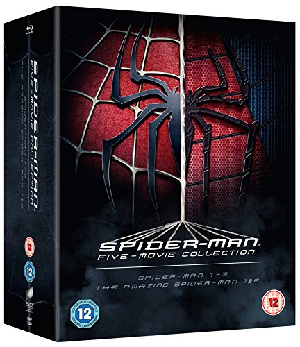 Image of The Spider-Man Complete Five Film Collection [Blu-ray] [Region Free]