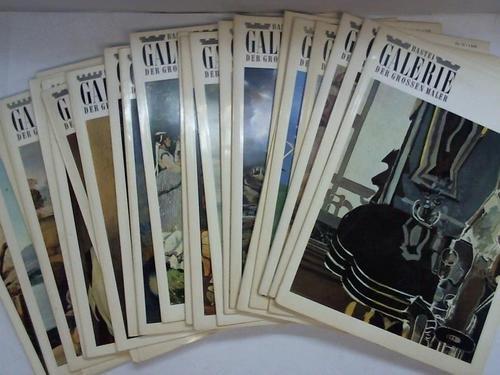 Galerie der grossen Maler. Sammlung von 25 Bänden