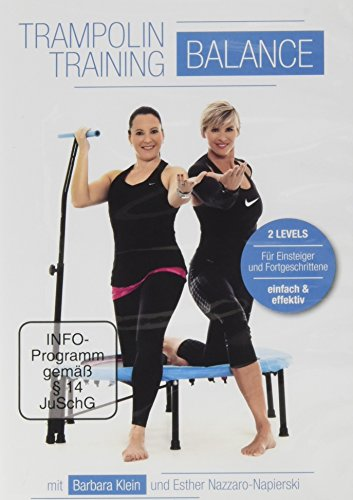 "FLEXI-SPORTS® DVD ""Trampolin Training Balance\"""