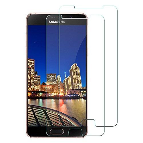 [2 Stück] Tamaku Panzerglas Schutzfolie für Samsung Galaxy A5 2016, 9H Gehärtetem Glas Schutzfolie Displayschutzfolie Panzerglas, Anti-Kratzen, Anti-Öl, Anti-Bläschen-Transparente