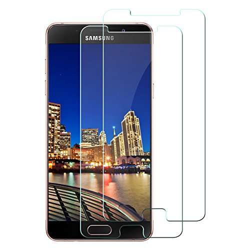 galaxy a5 2016 display [2 Stück] Tamaku Panzerglas Schutzfolie für Samsung Galaxy A5 2016, 9H Gehärtetem Glas Schutzfolie Displayschutzfolie Panzerglas, Anti-Kratzen, Anti-Öl, Anti-Bläschen-Transparente