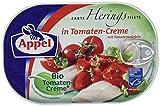 Produkt-Bild: Appel Heringsfilets, zarte Fisch-Filets in Bio-Tomaten-Creme, MSC zertifiziert, 200 g
