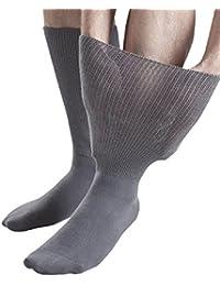 Sock Shop Iomi Footnurse - Mens & Womens Unisex Extra Wide Soft Cotton Oedema Socks for Swollen Feet