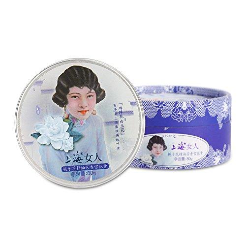 OLD SHANGHAI Vanishing Cream Feuchtigkeitscreme straffende Creme Alter trotzen feuchtigkeitsspendende Hautpflege Vintage Geschenk 80g(Gardenia) -