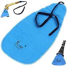Gamuza de limpieza OriGlam para limpiar la cabeza o el cuerpo de instrumentos como flautas,