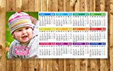 Detalles y Recuerdos de Bautizo - Calendarios Imán Personalizados Foto - Perfecto como Regalo de Navidad, Primera Comunión - Pack 15 unidades