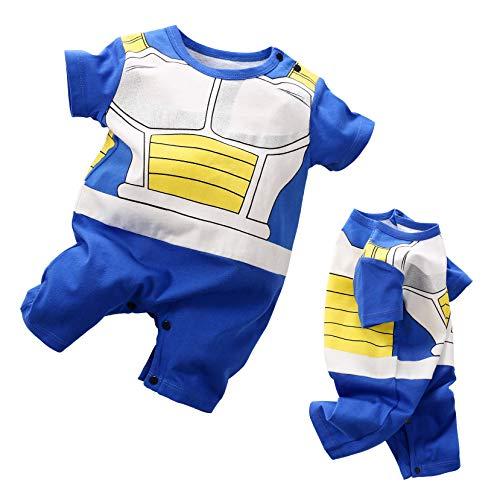 Baby Kleidung Neuge Borenes Vegeta Baby Schöne Strampler Cartoon - Baby Saiyajin Kostüm
