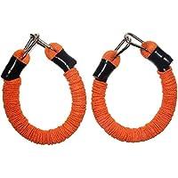 Ueasy rebote para entrenamiento dispositivo pierna fuerza vertical Jump Trainer Squat máquina libertad combinación equipo, Orange-100 pounds