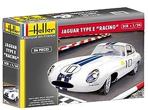Heller - 80783 - E Type Jaguar Le Mans - 86 Habitaciones - 1/24 Escala