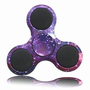 KAIHONG Fidget Hand Finger Toy Spinner Jouet Ultra Durable Roulement Haute Vitesse 3-5 Mins Spinners pour Adultes, le TDAH, l'anxiété et les Enfants Adultes Autistes (001)