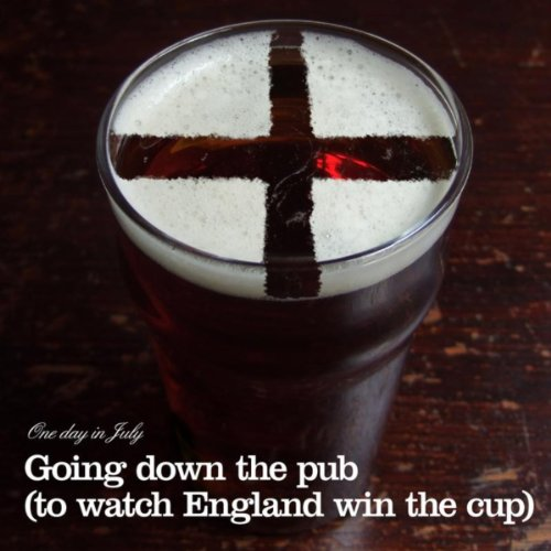 Going Down the Pub (to watch England win the cup)