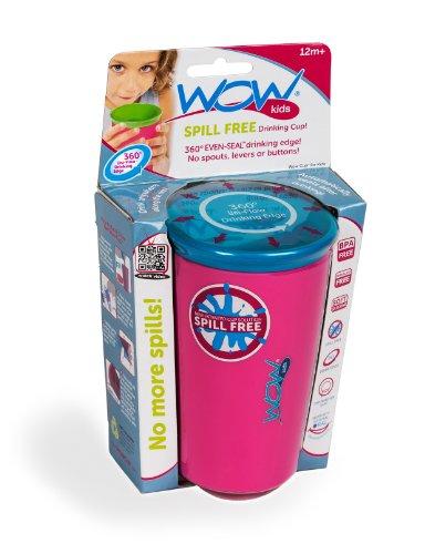 Wow Cup Spill potabile gratuita Cup * PINK * (Inviato da UK)