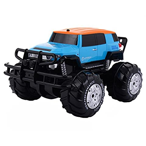 RC Monster Truck Jeep véhicule voiture tout terrain Haute Vitesse télécommande 2.4G 8 canaux