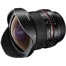 Walimex Pro 12 mm 1:2.8 Fish-Eye Objektiv DSLR (mit abnehmbarer Gegeblichtblende)  für Sony E-Mount Bajonett schwarz