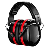 Mpow Ear Defenders, Fits Adults and Kids, 34dB SNR Comfortable Safety Ear Muffs Work Ear Defenders ( Storage Bag Included)