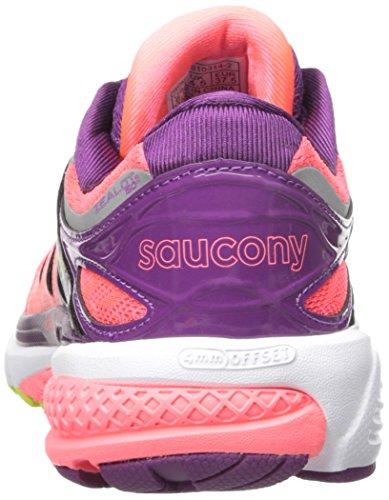Saucony Zealot Iso 2 W, Scarpe da Corsa Donna Rosa