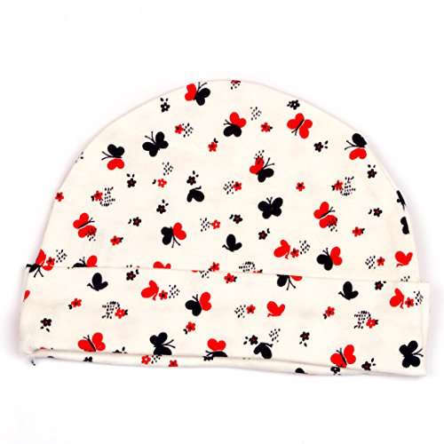 Pikaboo Cute Butterfly Printed Caps for Baby Boys and Girls  available at amazon for Rs.149