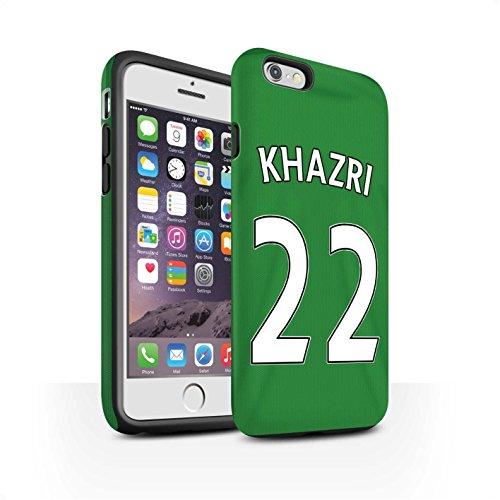 Offiziell Sunderland AFC Hülle / Matte Harten Stoßfest Case für Apple iPhone 6 / Jones Muster / SAFC Trikot Away 15/16 Kollektion Khazri