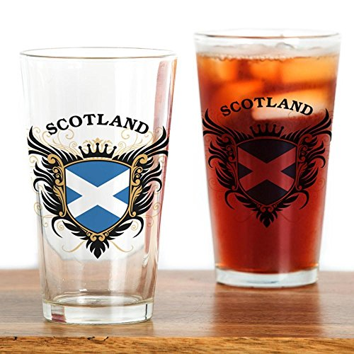 CafePress - Scotland Drinking Glass - Pint Glass, 16 oz. Drinking Glass by CafePress