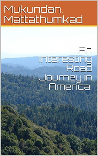 An Interesting Road Journey in America. (Disneyland Tour Book 2) (English Edition)