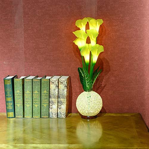 Hufeisen, Basis (Vinmin LED Hufeisen-Nachtlicht, LED Vase Table LampPremium Luminous Künstliche Tulip Sepak Takraw Basis USB Tischlampe)