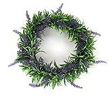 Deko Kranz Lavendel groß  30cm