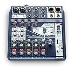 SOUNDCRAFT NOTEPAD 8FX Console de mixage avec USB I/O